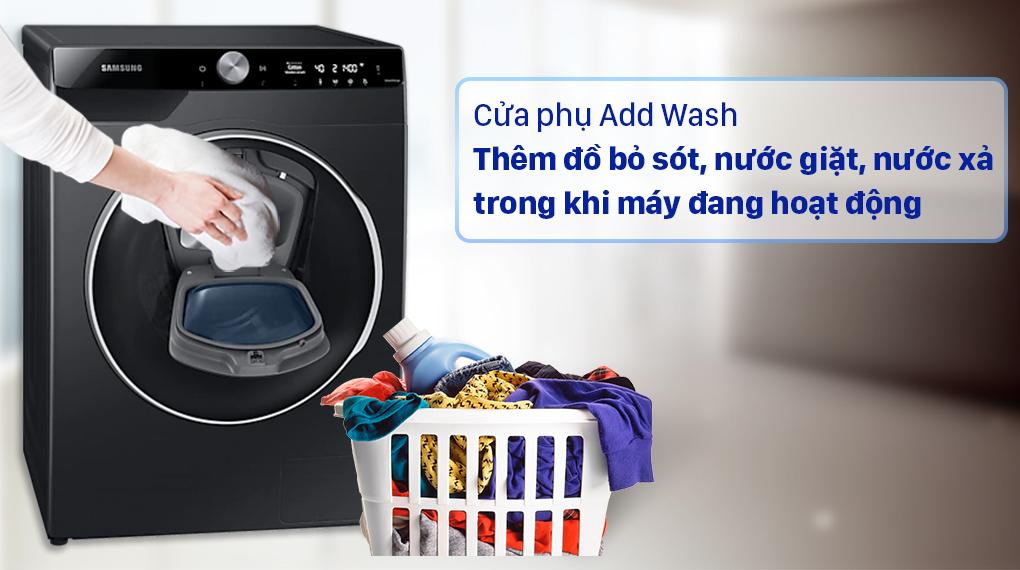 Máy giặt Samsung WW10TP54DSB/SV - Cửa phụ Add Wash