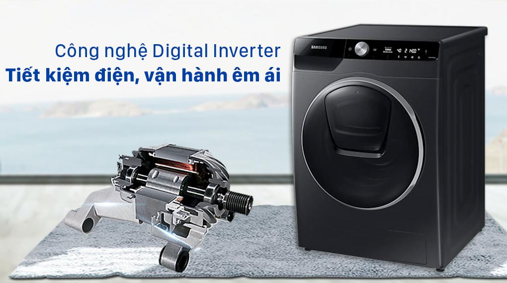 Máy giặt Samsung WW10TP54DSB/SV - Digital Inverter