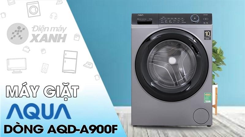 Máy giặt Aqua Inverter 9.0 KG AQD-A900F S