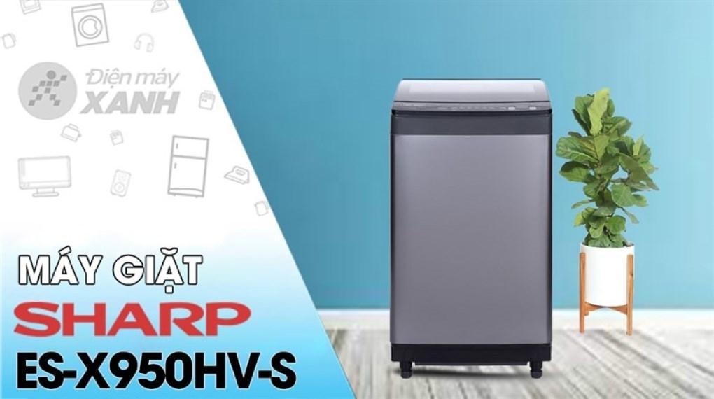 Máy giặt Sharp Inverter 9.5 Kg ES-X95HV-S
