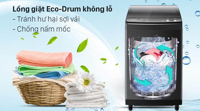 Máy giặt Sharp Inverter 9.5 Kg ES-X95HV-S - Tránh hư hại sợi vải và chống nấm mốc