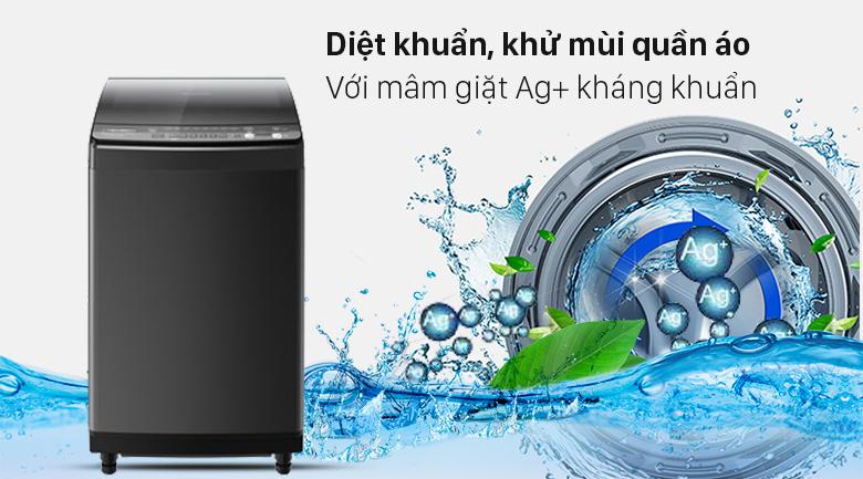 Máy giặt Sharp Inverter 9.5 Kg ES-X95HV-S - Diệt khuẩn khử mùi quần áo