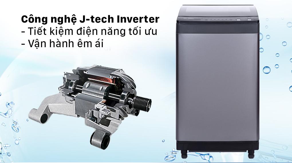Máy giặt Sharp Inverter 9.5 Kg ES-X95HV-S - J-tech Inverter