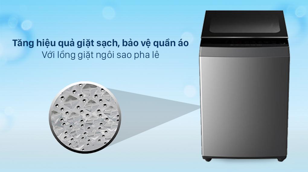 Máy giặt Toshiba 7 Kg AW-L805AV (SG) - Lồng giặt ngôi sao pha lê