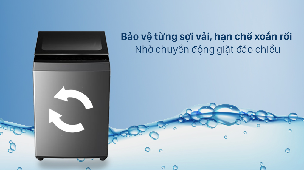 Máy giặt Toshiba 7 Kg AW-L805AV (SG) - Chuyển động giặt đảo chiều
