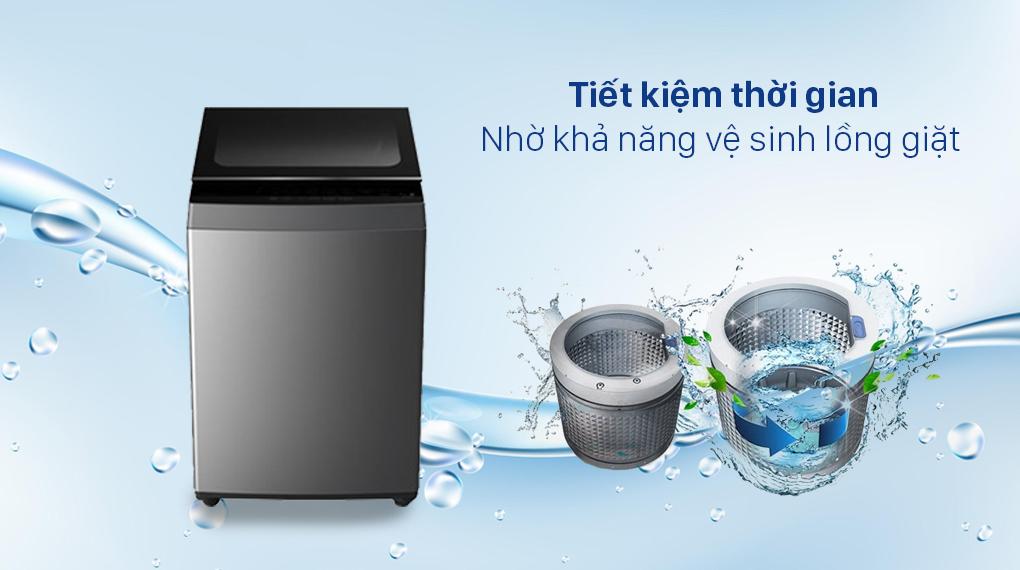 Máy giặt Toshiba 7 Kg AW-L805AV (SG) - Khả năng vệ sinh lồng giặt