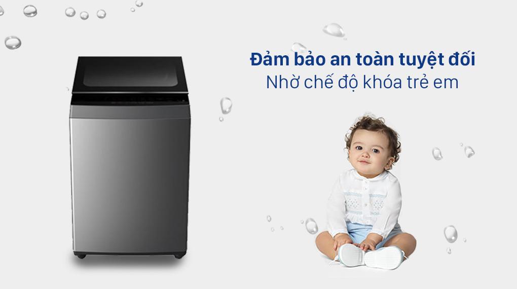 Máy giặt Toshiba 7 Kg AW-L805AV (SG) - Chế độ khóa trẻ em