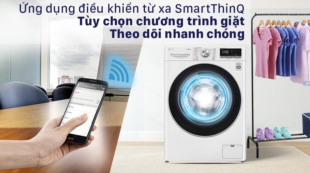 máy giặt LG Inverter 10.5 kg FV1450S3W2 - SmartThinQ