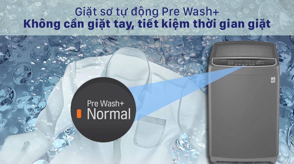 Máy giặt LG Inverter 13 kg T2313VSAB - Công nghệ Pre Wash+