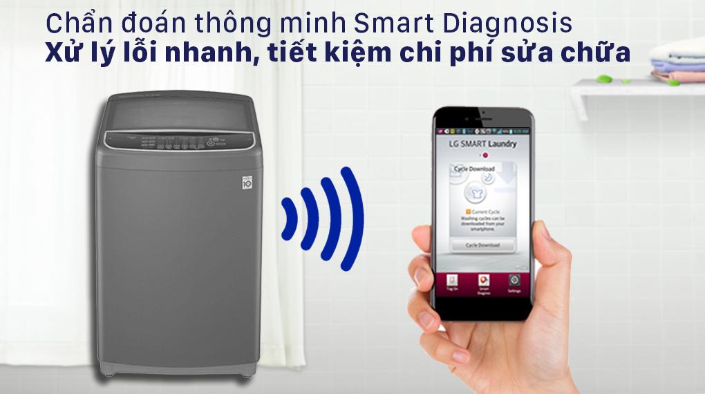 Máy giặt LG Inverter 13 kg T2313VSAB - Smart Diagnosis