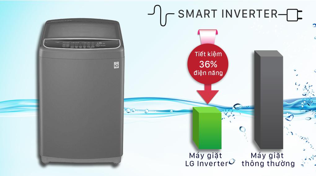 Máy giặt LG Inverter 13 kg T2313VSAB - inverter