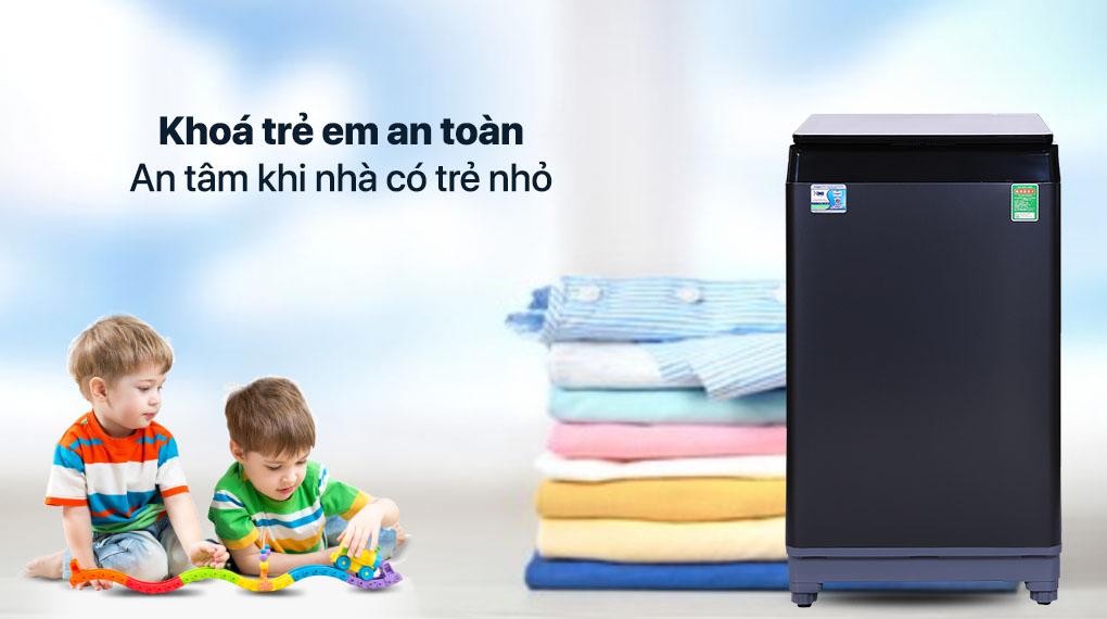 Máy giặt Aqua 10 KG AQW-F100GT.BK - Khối lượng giặt 10 kg