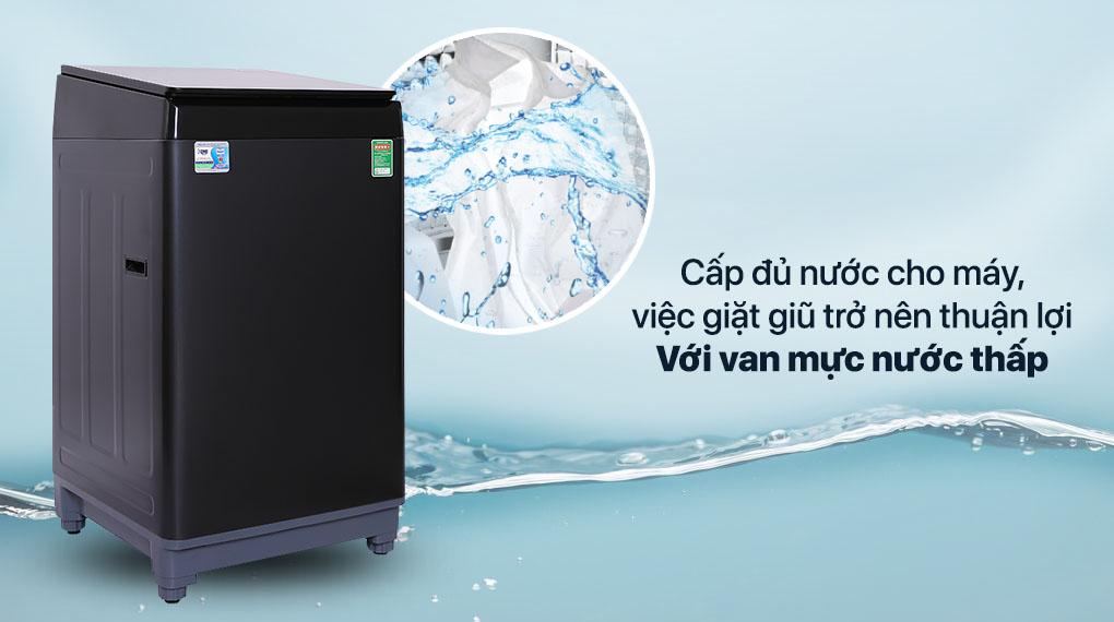 Máy giặt Aqua 10 KG AQW-F100GT.BK - Van mực nước thấp