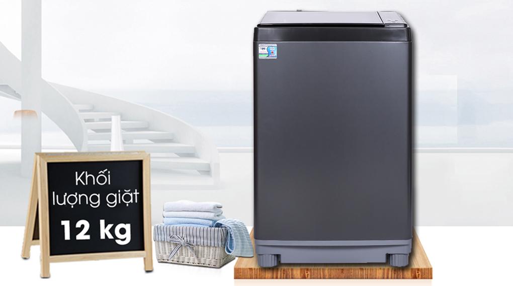 Máy giặt Aqua 12 kg AQW-FW120GT.BK - Khối lượng giặt 12 kg