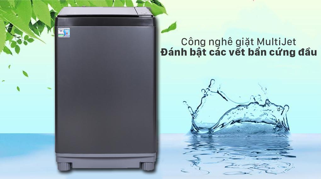 Máy giặt Aqua 12 kg AQW-FW120GT.BK - Công nghệ MultiJet