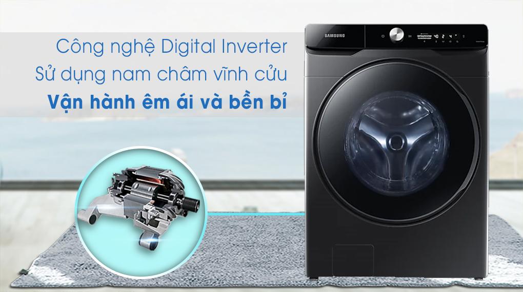 Máy giặt sấy Samsung Inverter 21 kg WD21T6500GV/SV - Digital Inverter