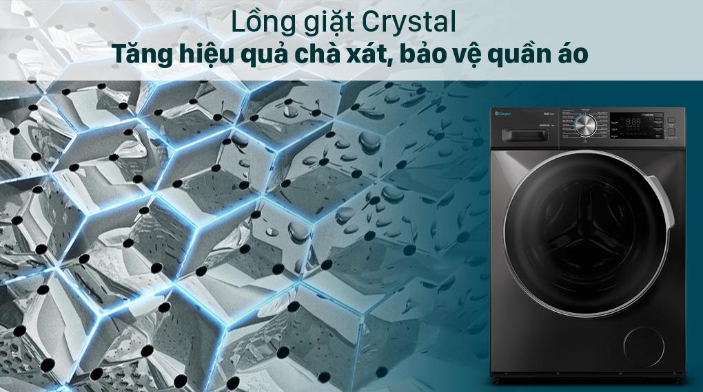 Máy giặt Casper Inverter 8.5 kg WF-85I140BGB - Crystal