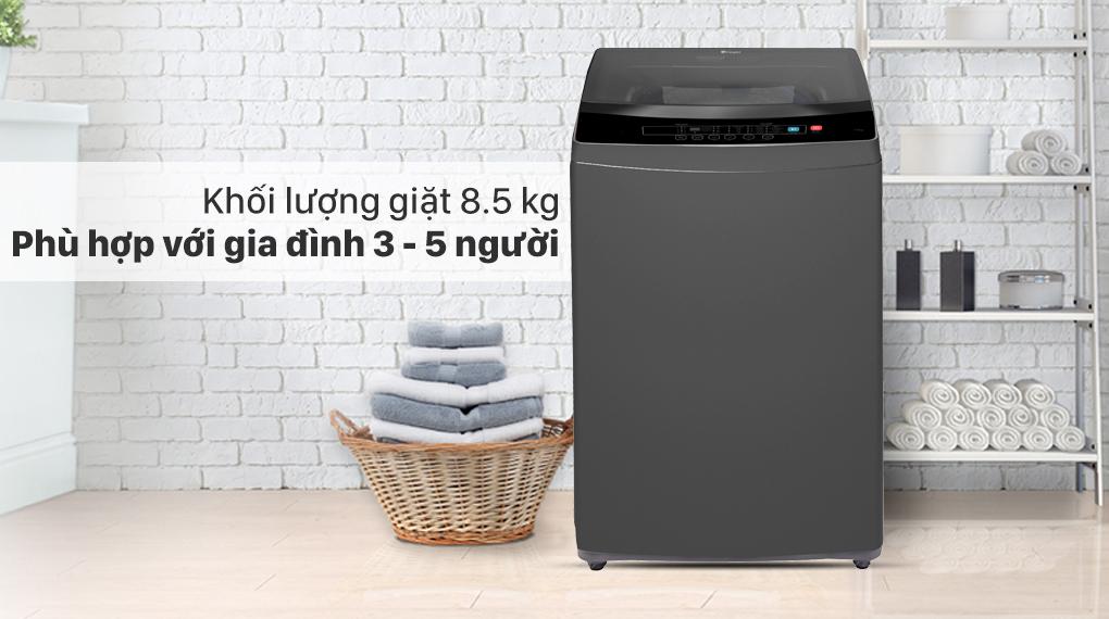 Máy giặt Casper 8.5 kg WT-85N68BGA - Khối lượng giặt