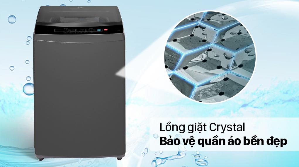 Máy giặt Casper 7.5 kg WT-75N70BGA - Lồng giặt Crystal