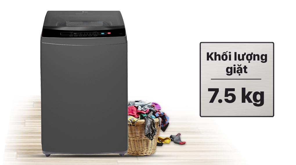 Máy giặt Casper 7.5 kg WT-75N70BGA - Khối lượng giặt