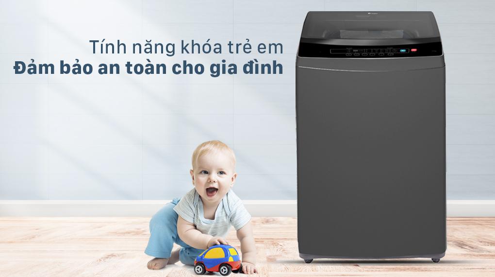 Máy giặt Casper 7.5 kg WT-75N70BGA - Khóa trẻ em