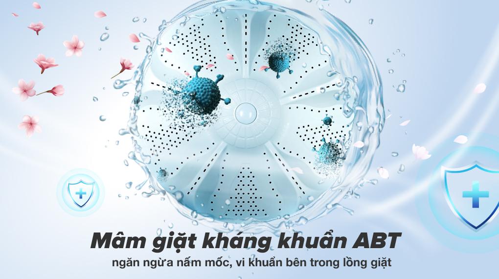 Máy giặt Aqua 8 KG AQW-KS80GT S - Mâm giặt ABT