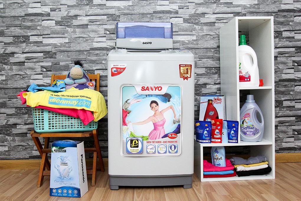 Máy giặt Sanyo ASW-S85VT 8.5kg hình 1