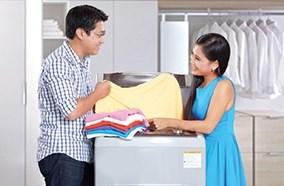 Nhiều chế độ giặt phong phú