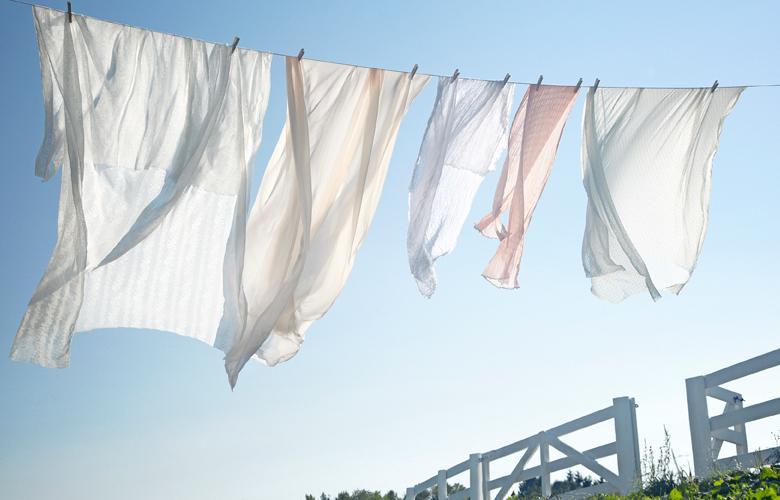 Quần áo sạch hơn và nhanh khô hơn