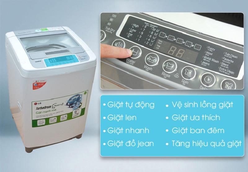 Máy giặt LG WF-S1015TT có lồng giặt hiện đại