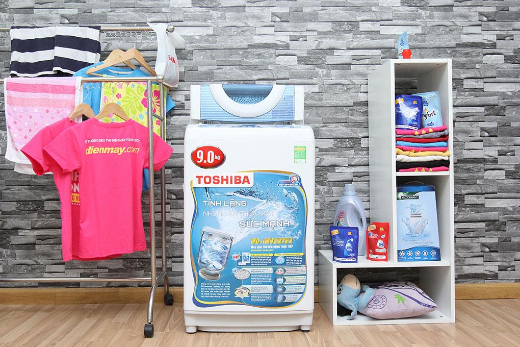 Máy giặt Toshiba 9kg AW-DC1005CV hình 1