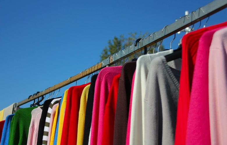 Quần áo phơi nhanh khô hơn trước