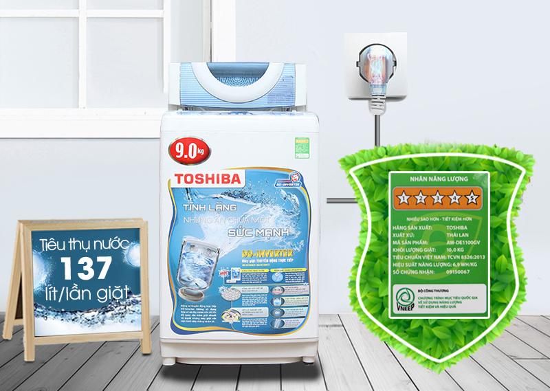Máy giặt Toshiba AW-DC1005CV có công nghệ DD Inverter độc đáo