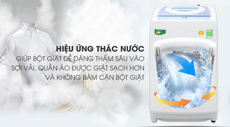 Hiệu ứng thác nước - Máy giặt Toshiba Inverter 9kg AW-DC1005CV