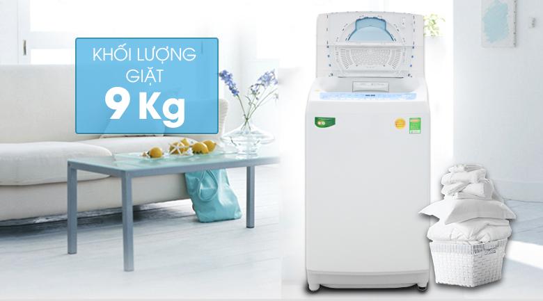 Khối lượng giặt 9kg - máy giặt Toshiba Inverter 9kg AW-DC1005CV