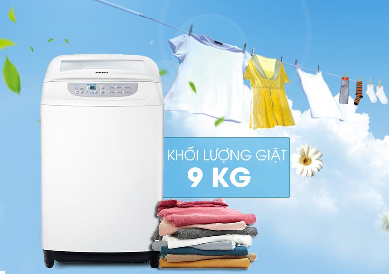 Máy giặt Samsung WA90F5S3QRW/SV