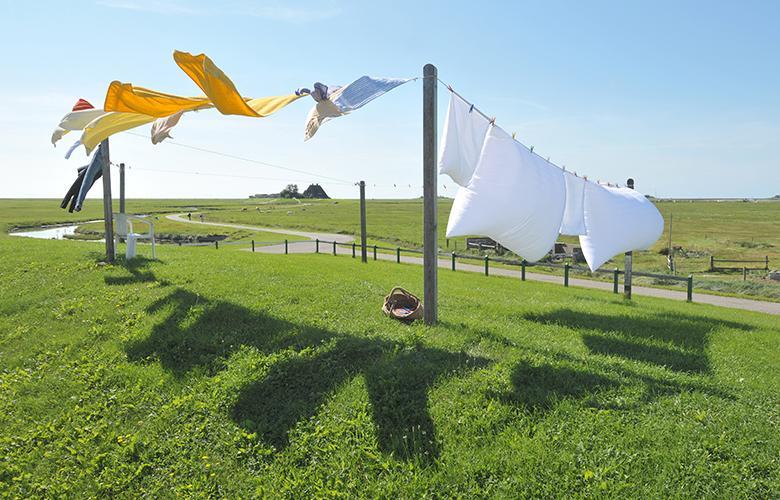 Tốc độ quay vắt mạnh giúp quần áo nhanh khô