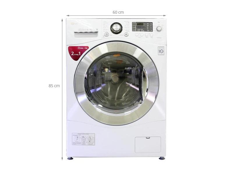 Thông số kỹ thuật Máy giặt LG WD-20600 8kg