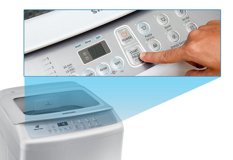 6 chế độ giặt tiện lợi