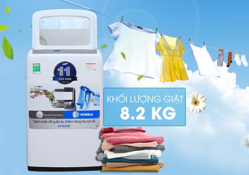 Máy giặt Samsung WA82H4200SW/SV