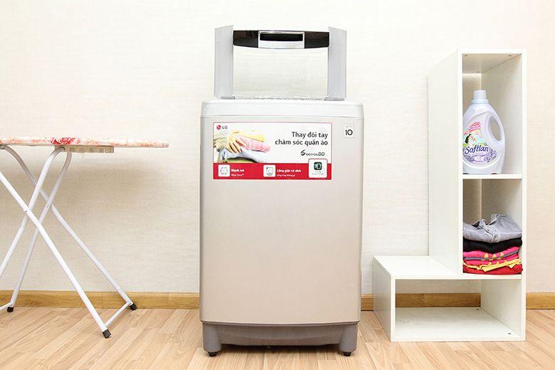 Hình ảnh máy giặt cửa trên LG WF-D1119DD 11kg
