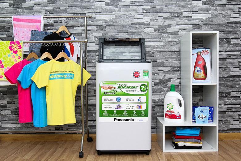 Thiết kế thân thiện của máy giặt Panasonic NA-F70VH6HRV