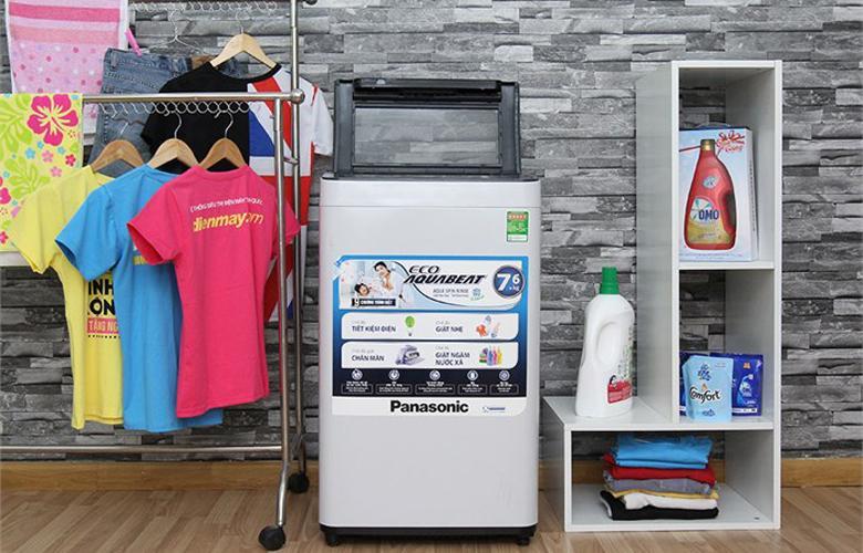 Máy giặt có thiết kế hiện đại và thân thiện