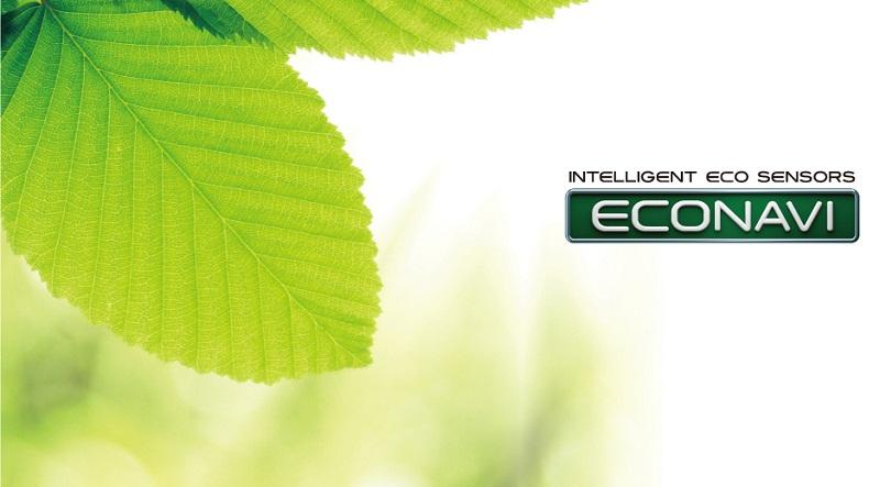 Tiết kiệm điện, nước với công nghệ Econavi tiên tiến