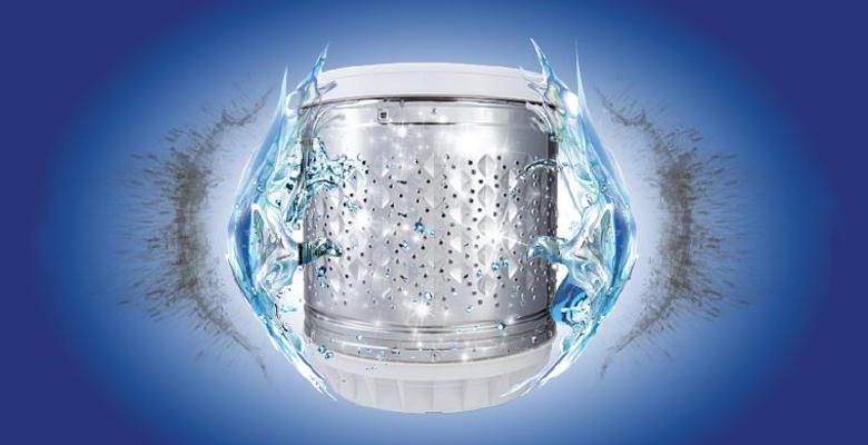 Lồng giặt Magic Drum chống khuẩn triệt để