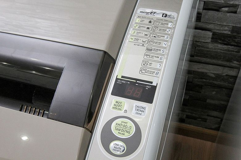 Máy giặt có 8 chế độ giặt khác nhau