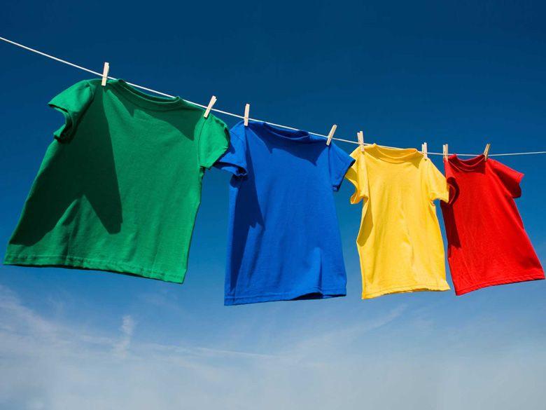 Áo quần khô nhanh với tốc độ quay vắt lớn