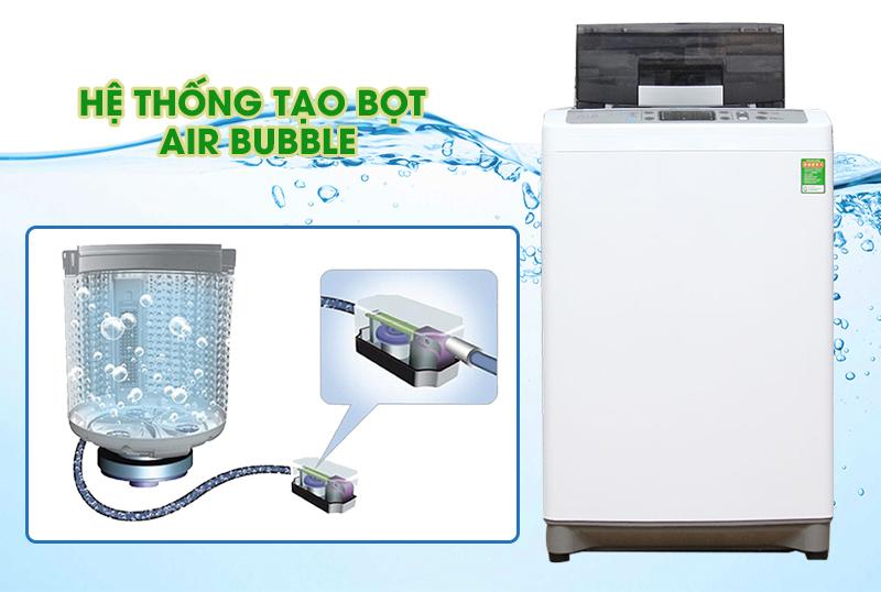 Hòa tan bột giặt mạnh mẽ, cho hiệu quả giặt sạch cao