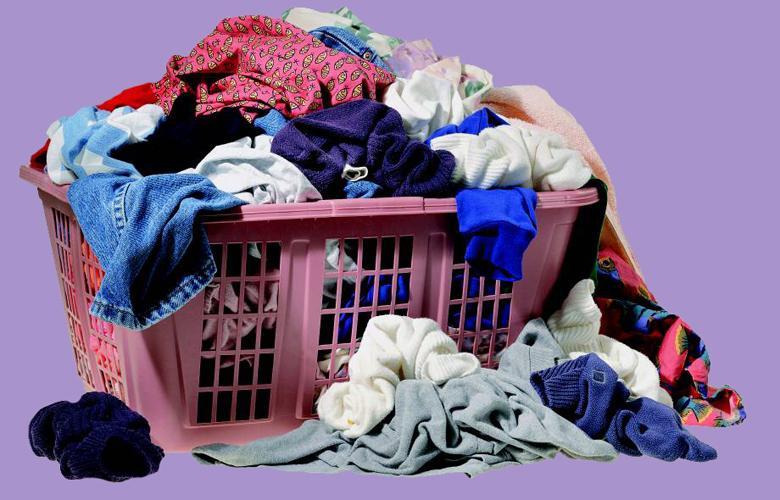Thoải mái giải quyết quần áo bẩn