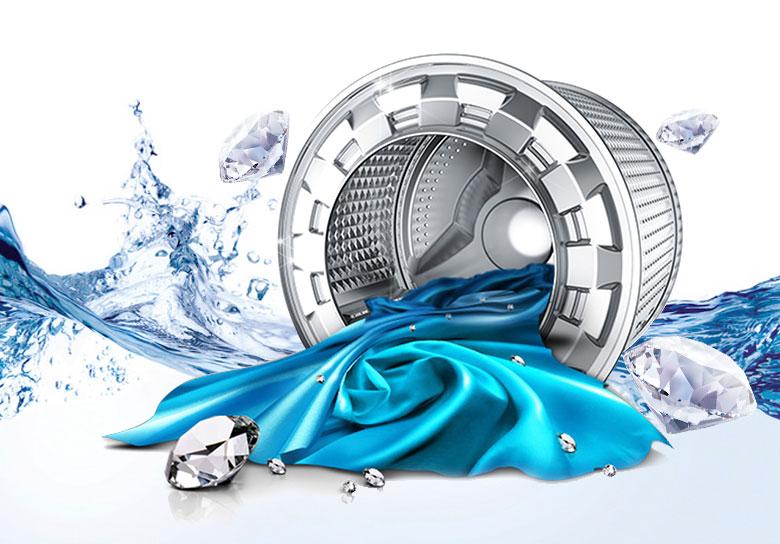 Lồng giặt chất lượng cao, bền bỉ